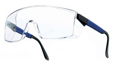 Clear Bolle Visiteur Safety Glasses VISPI