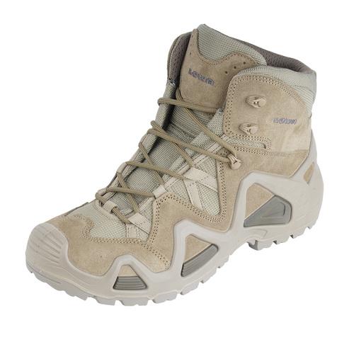 mehrere farben auf Füßen Aufnahmen von erstklassiger Profi LOWA - Tactical Boots ZEPHYR MID TF - Coyote - 310535 0736