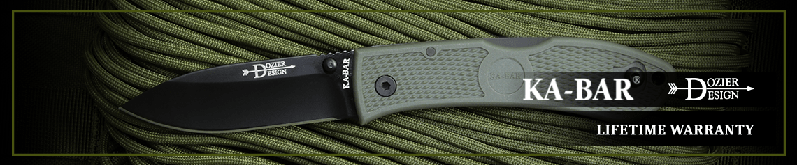 Ka-Bar Dozier - Lifetime Warranty