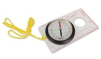 MilTec Map Compass with mirror 15797000 Outdoor Compasses