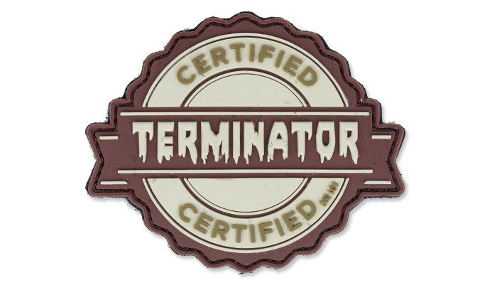7fba4be437 101 Inc. - 3D Patch - Terminator - Coyote