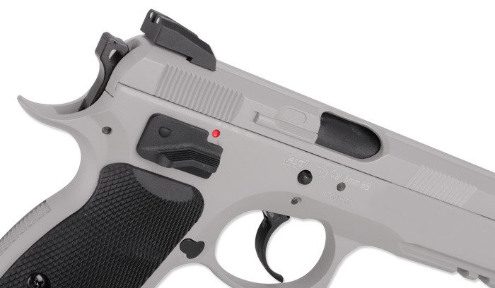 ASG - CZ 75 SP-01 SHADOW Pistol Replica - CO2 GBB - Urban Grey - 18916