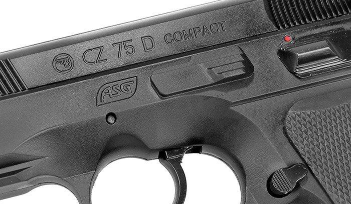 ASG - CZ 75D Compact Pistol Replica - GNB - 15885