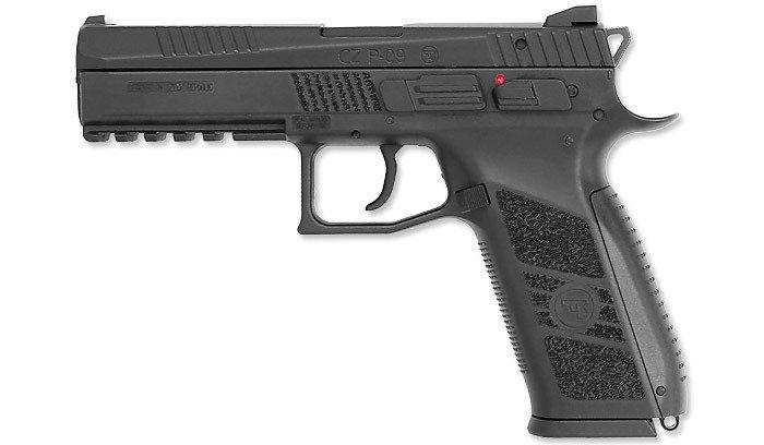 6e41de790f1 ASG - CZ P-09 Pistol Replica - Black - GBB - 18116 ☆ SpecShop.pl ...