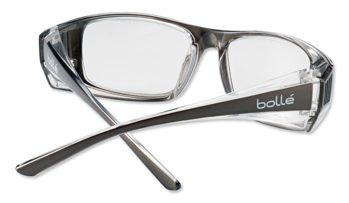 10e21480600 Bolle Safety - Safety Glasses - B808 - Clear - B808BLPSI