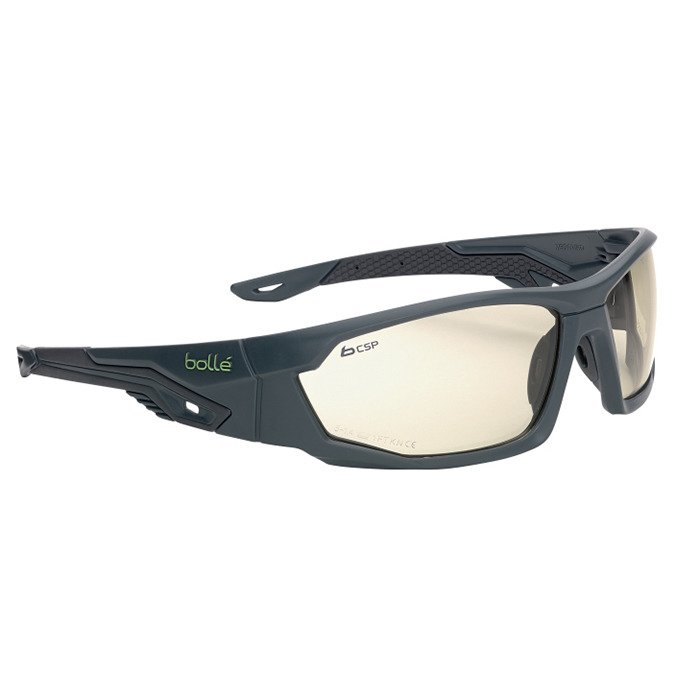 Bolle TRYON Safety Glasses Work Wear Anti Scratch Anti Fog SMOKE Lens TRYOPSF