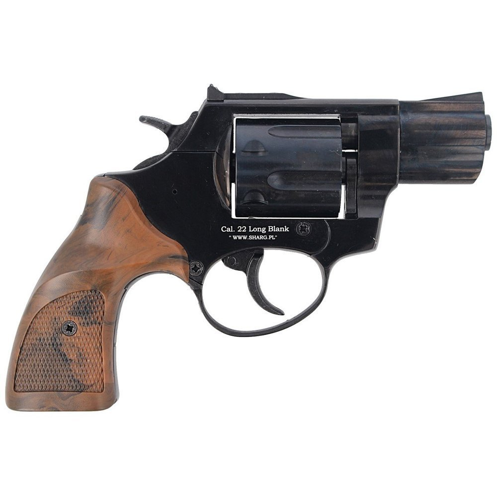 Ekol - Blank Firing Revolver Lite K-6L Black - 6mm long