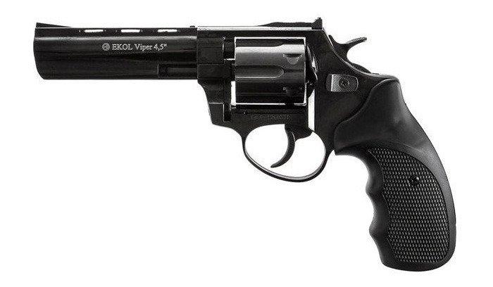Ekol - Blank Firing Revolver Viper 4,5''' K-6L Black - 6mm long