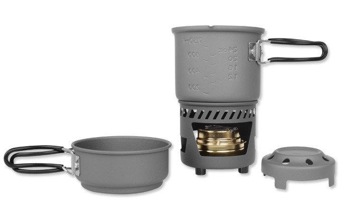 Esbit - Cookset (Spirit Solid Fuel) - Non--Stick - 985 ml - CS985NS ... 1397a6439394b