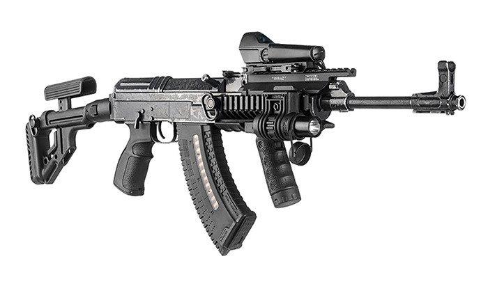 FAB Defense - Ultimag 30R VZ 58 Magazine - 7 62x39 - Black