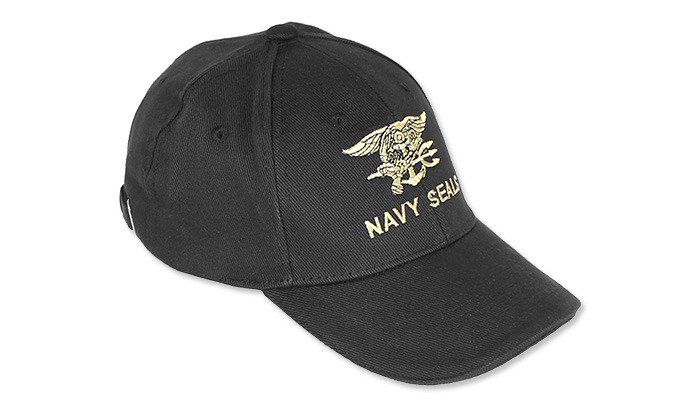 ... FOSTEX - Baseball Cap Navy Seals - Black ... 99b25eed71e
