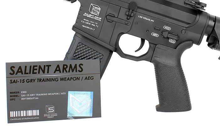 G&P - Salient Arms SAI GRY Short Carbine Replica - AEG089S