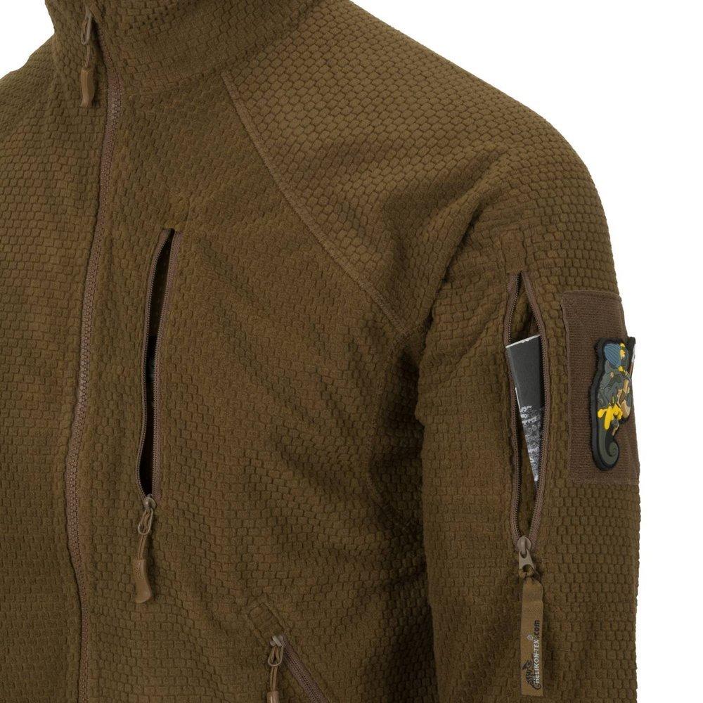 Helikon Alpha Tactical Grid Fleece Jacket Coyote BL ALT FG 11
