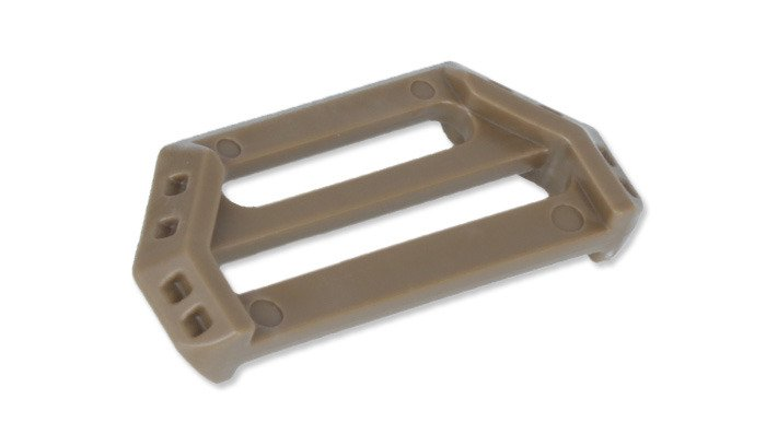 "25mm ITW Nexus Coyote Tan 3 Piece Surface Mount Buckles 4 x 1/"" Military Spec"