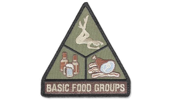 Mil Spec Monkey Morale Patch Basic Food Groups