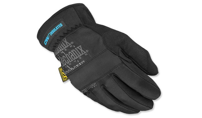 Mechanix Fastfit Insulated Glove Black Clothes