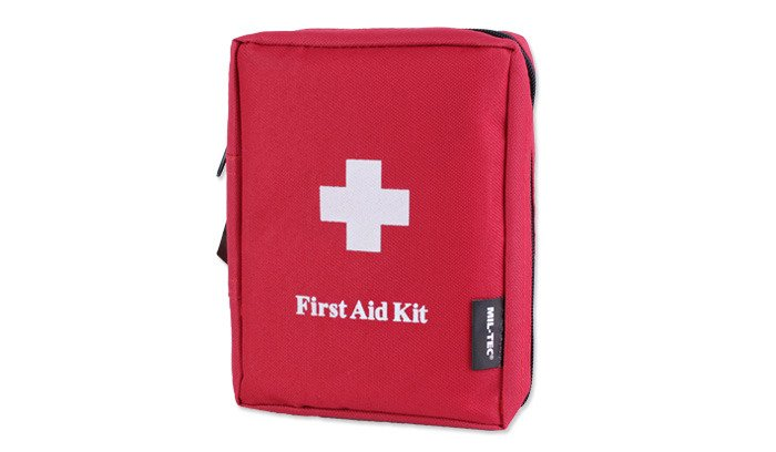 Mil-Tec - First Aid Kit - Large - Red - 16027000