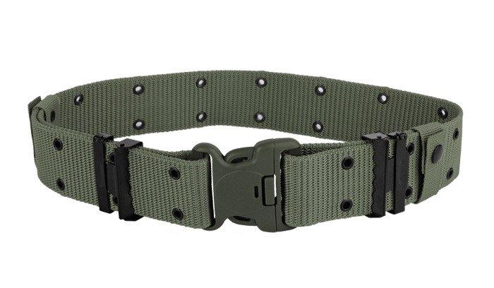 Mil-Tec - LC2 US Military Belt with Duraflex® Cop-Lok® Buckle - OD Green -  13312001