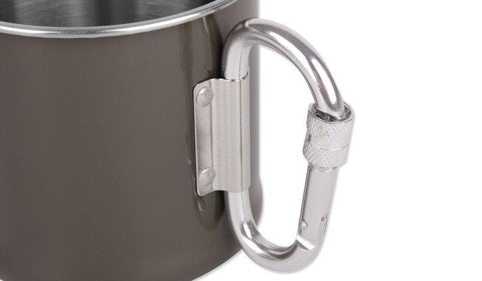 Mil-Tec Carabiner cup made of steel