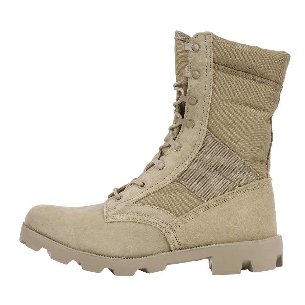 ... Mil-Tec - US Panama Military Boots - Coyote Brown - 12825005 ... fcc01cc7040
