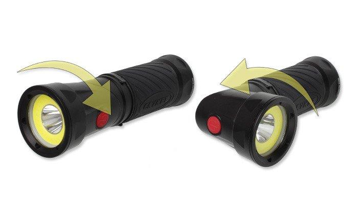 Nebo 6437 Work Light /& Spot Light with 9 Position Swivel Head