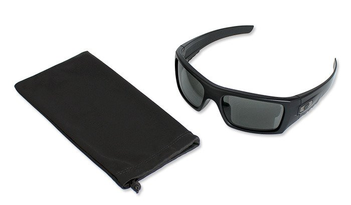 Oakley Det Cord >> Oakley Si Ballistic Det Cord Matte Black Sunglasses Grey