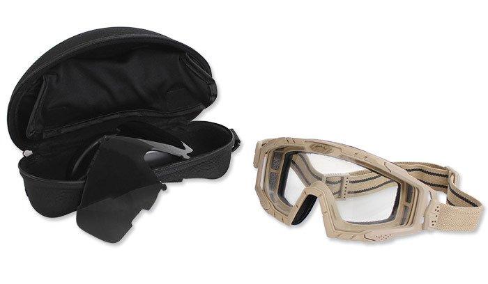 3ee26fadb8f ... Oakley - SI Ballistic Goggle 2.0 Dark Bone Array - 2LS - OO7035-07 ...