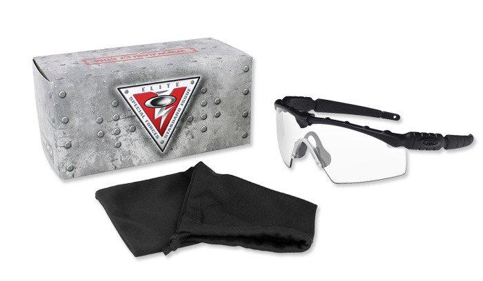 7cf6b4205f ... Oakley - SI Ballistic M Frame 2.0 Strike Black Sunglasses - Clear -  11-139 ...