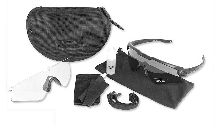 Oakley Si Ballistic M Frame Alpha Black Array Sunglasses