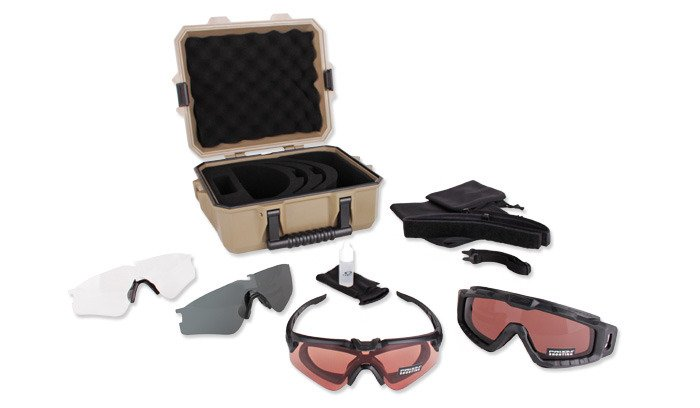 617ad0532d ... Oakley - SI Ballistic M Frame Alpha Operator Kit - Strongbox Case -  OO9296-01 ...