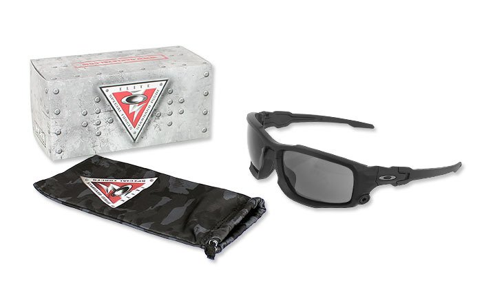 e9900f2fb2 Oakley - SI Ballistic Shocktube Matte Black Sunglasses - Grey - OO9329-01