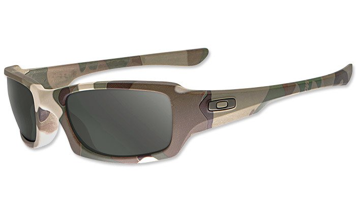 e1161f2420 ... Oakley - SI Fives Squared Multicam Sunglasses - Warm Grey - 53-076 ...