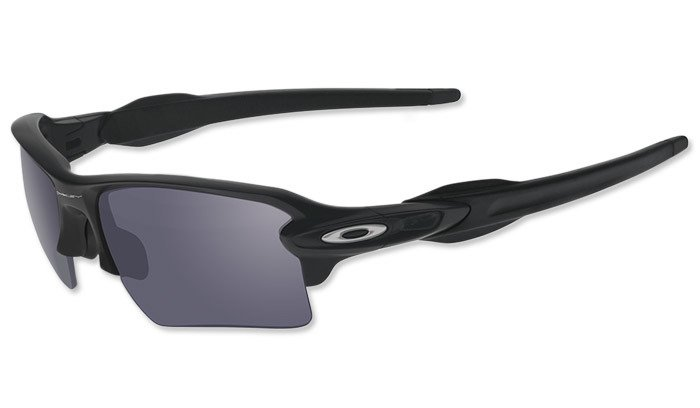 d2f0d52fdf6 ... Oakley - SI Flak Jacket 2.0 XL Matte Black Sunglasses - Grey -  OO9188-13 ...