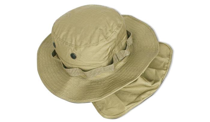 Teesar Inc. - Boonie Hat w cover - RipStop - Coyote Brown  d0f8622427f
