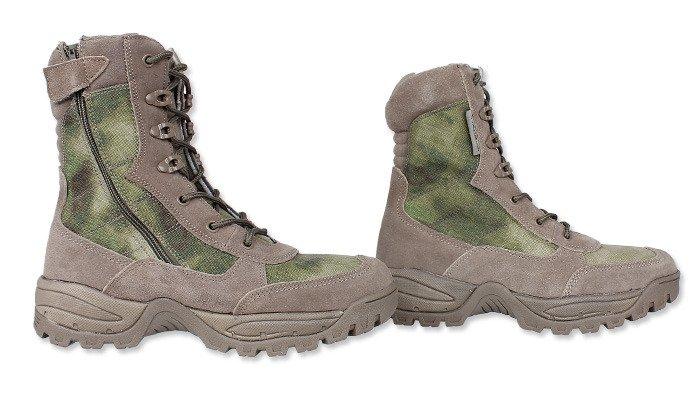 38ca6e77609 Teesar - Tactical Side Zip Military Boots - A-TACS FG® - 12822159