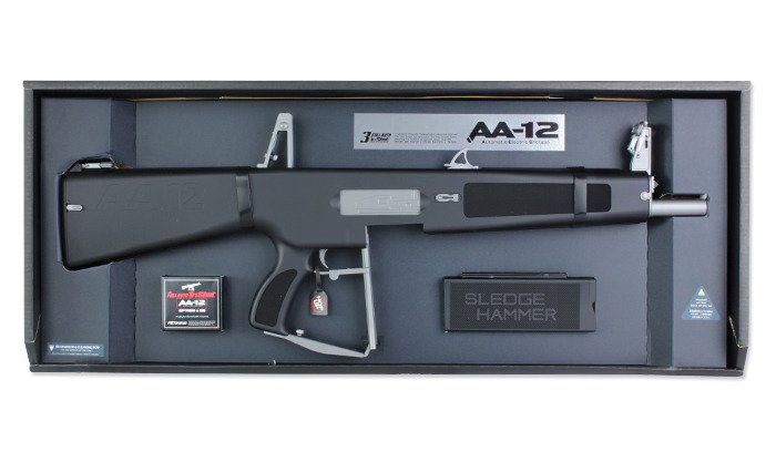 Tokyo Marui - AA-12 Full Auto TriShot Automatic Electric Shotgun Replica