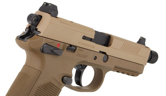 Tokyo Marui Fn X 45 Tactical Pistol Replica Gbb Best Price Check Availability Buy Online With Fast Shipping