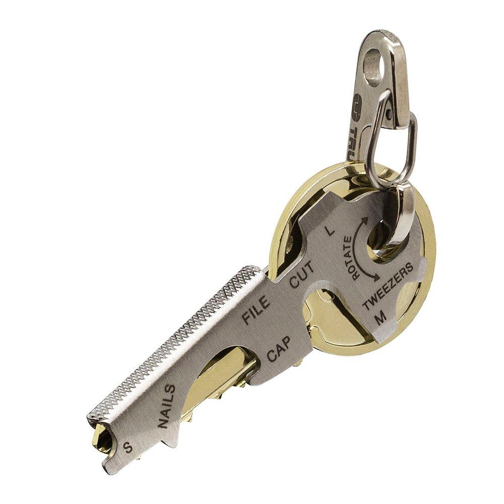 outdoor stainless edc survival pocket tool key ring chain bottle opener tool BB