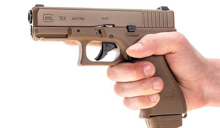 Umarex - Glock 19X Pistol replica - CO2 GBB - Coyote - 2 6435