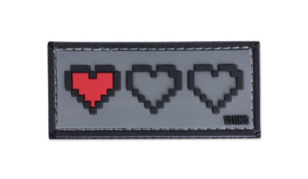 101 Inc. - 3D Patch - Last Live - Grey - 444100-3866