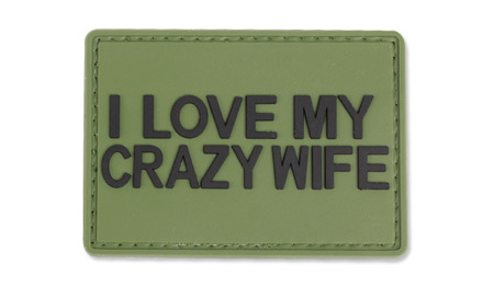 4TAC - PVC Patch - I Love My Crazy Wife
