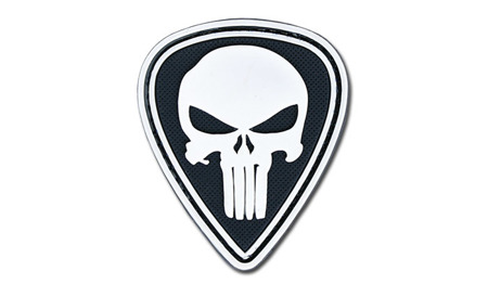 4TAC - PVC Patch - Punisher