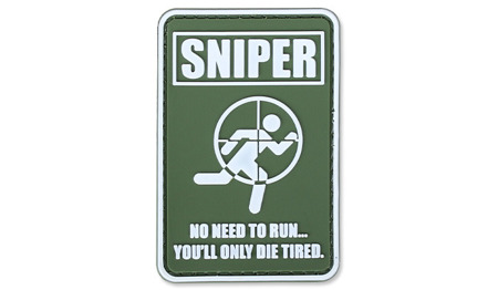 4TAC - PVC Patch - Sniper