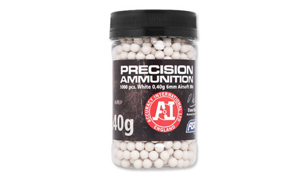 ASG - BB Bullets Precision Ammunition Heavy - 0.40 g - 1000 rds - Bottle - 18413