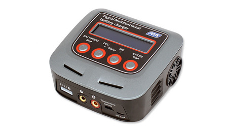ASG - Digital Multifunctional Battery Charger - LiPo, LiFe, NiMH-18403