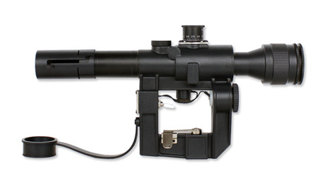 ASG - PSO-1 Scope for SVD - 4x24 - Illuminated - 16824
