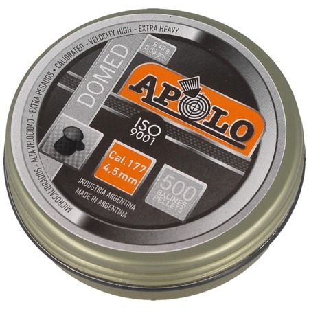 Apolo - Airgun Pellets Domed Extra Heavy - .117 / 4.5mm - 500 pcs - E19913