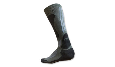 BATAC - Mission Knee Socks - Grey / Black - MI10-Grey