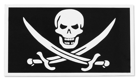 Combat-ID - Patch BAD CALICO JACK - Black - Gen II