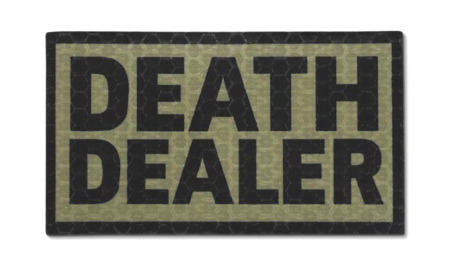 Combat-ID - Patch Death Dealer - Coyote Tan - Gen I